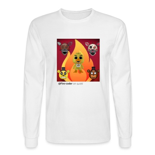 Firecoder Plays - Men's Long Sleeve T-Shirt