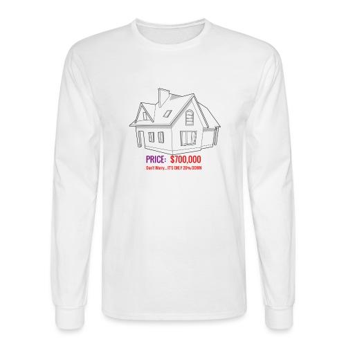 Fannie & Freddie Joke - Men's Long Sleeve T-Shirt
