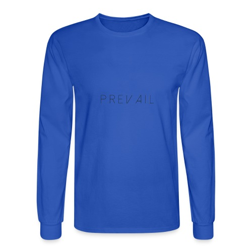 Prevail White - Men's Long Sleeve T-Shirt