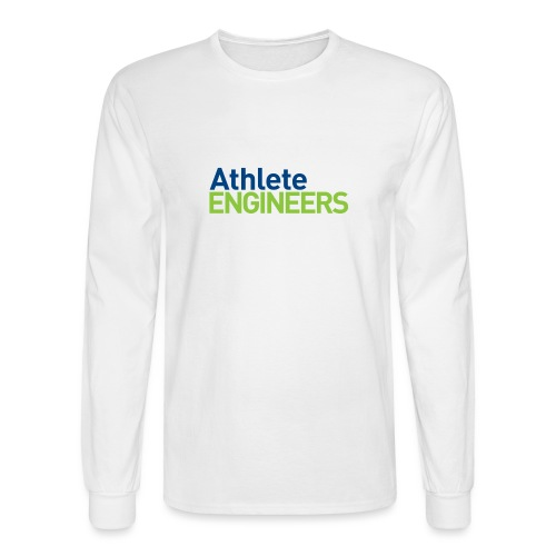 Athlete Engineers - Stacked Text - Men's Long Sleeve T-Shirt