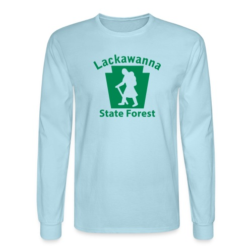 Lackawanna State Forest Keystone Hiker female - Men's Long Sleeve T-Shirt