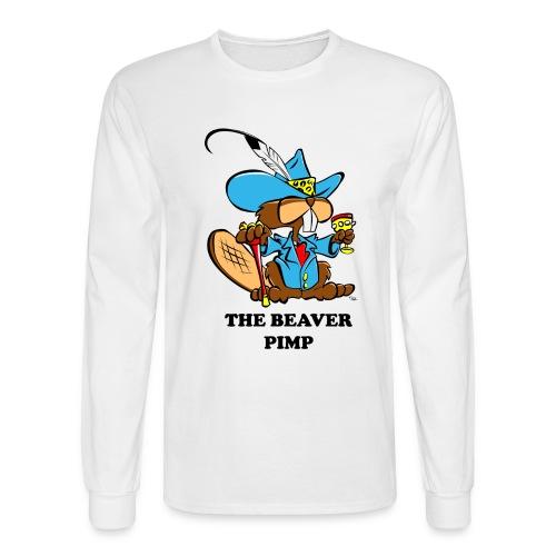 Beaver Pimp - Men's Long Sleeve T-Shirt