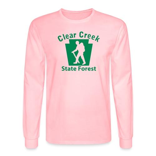 Clear Creek State Forest Keystone Hiker male - Men's Long Sleeve T-Shirt