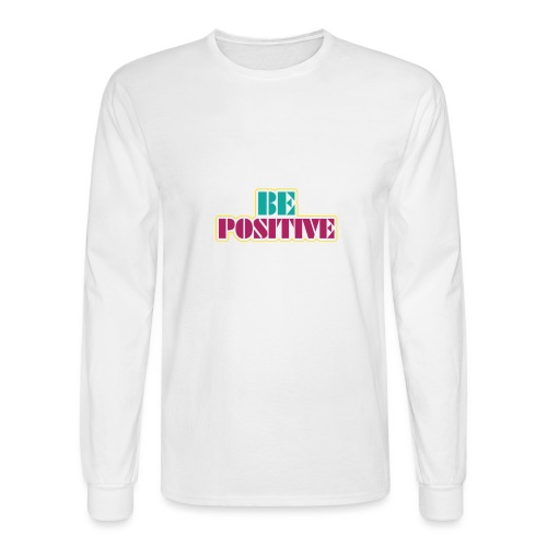 BE positive - Men's Long Sleeve T-Shirt