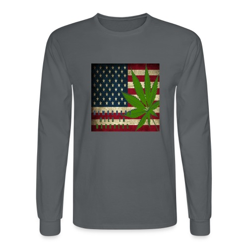 Political humor - Men's Long Sleeve T-Shirt