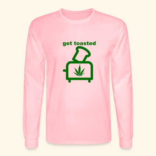 GET TOASTED - Men's Long Sleeve T-Shirt