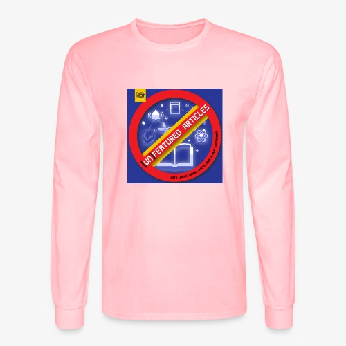 unFeatured Articles Cover - Men's Long Sleeve T-Shirt