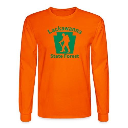 Lackawanna State Forest Keystone Hiker male - Men's Long Sleeve T-Shirt