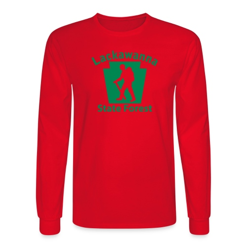 Lackawanna State Forest Keystone Hiker male - Men's Long Sleeve T-Shirt