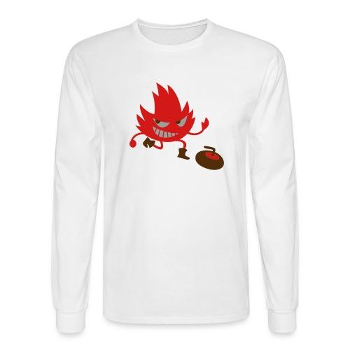Leif Curling - Men's Long Sleeve T-Shirt