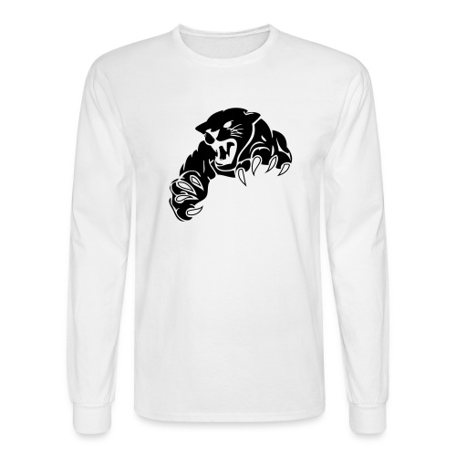 panther custom team graphic - Men's Long Sleeve T-Shirt