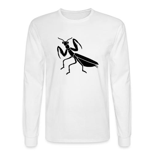 praying mantis bug insect - Men's Long Sleeve T-Shirt