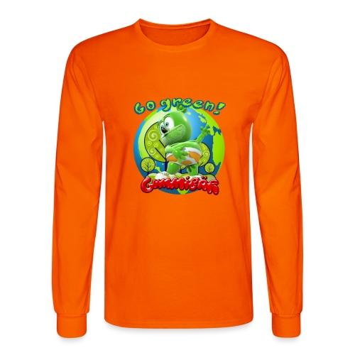 Gummibär Go Green Earth Day Earth - Men's Long Sleeve T-Shirt