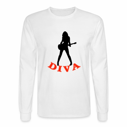 Rock Star Diva - Men's Long Sleeve T-Shirt