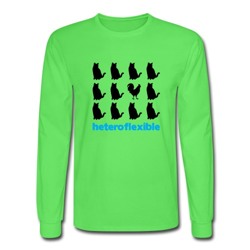 Heteroflexible Male - Men's Long Sleeve T-Shirt