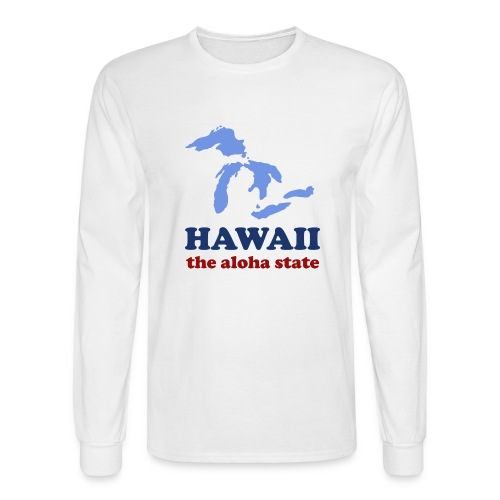Geographically Impaired - Men's Long Sleeve T-Shirt