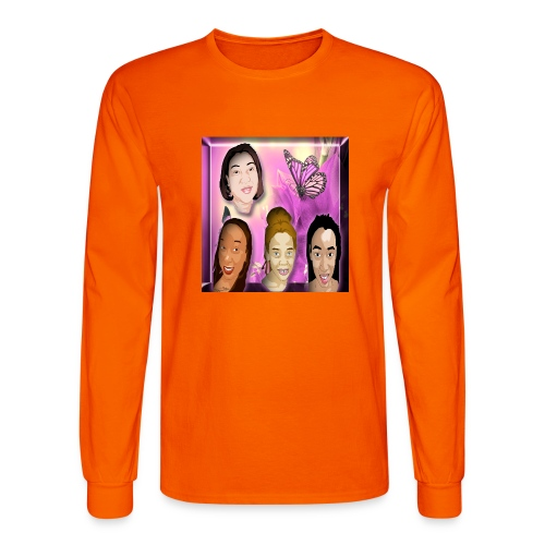 (family_first_revised) - Men's Long Sleeve T-Shirt