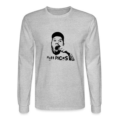 Matt Picks Shirt - Men's Long Sleeve T-Shirt