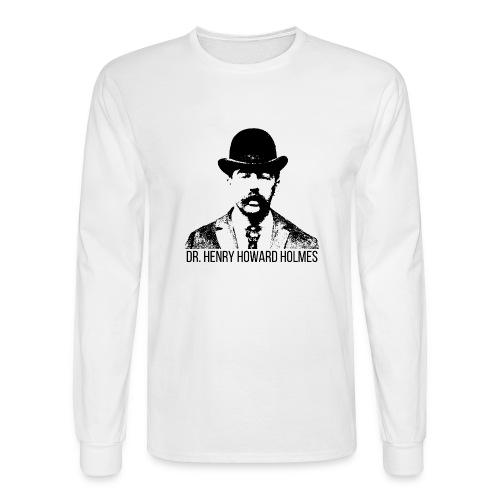 Dr-Henry-Howard-Holmes - Men's Long Sleeve T-Shirt