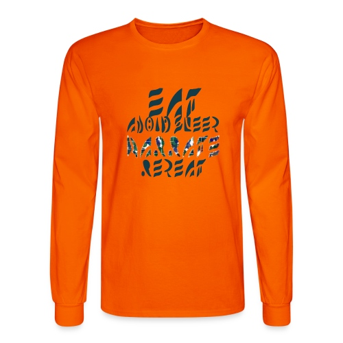 Eat Sleep Narrate Repeat - Men's Long Sleeve T-Shirt