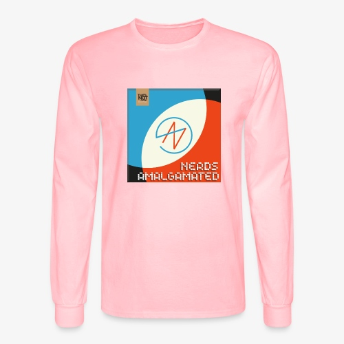 Top Shelf Nerds Cover - Men's Long Sleeve T-Shirt