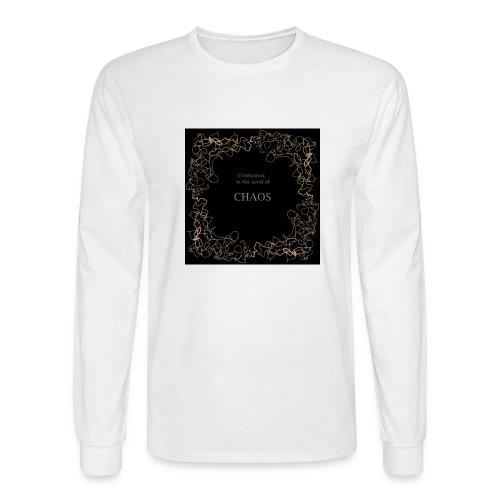 chaos - Men's Long Sleeve T-Shirt