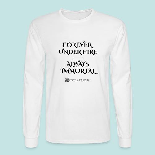 Always Immortal (black) - Men's Long Sleeve T-Shirt