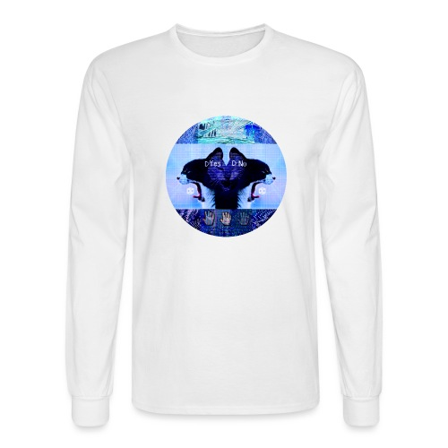 Yes No - Men's Long Sleeve T-Shirt