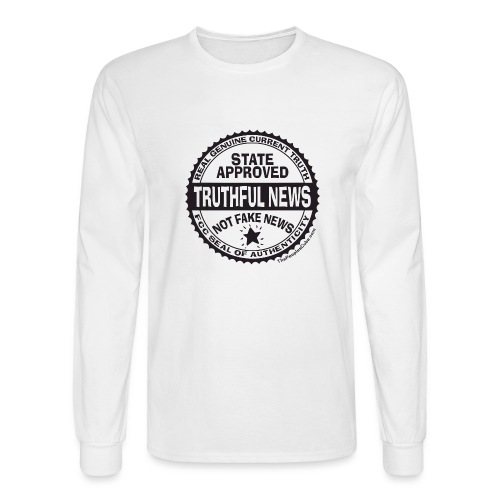 Truthful News FCC Seal - Men's Long Sleeve T-Shirt