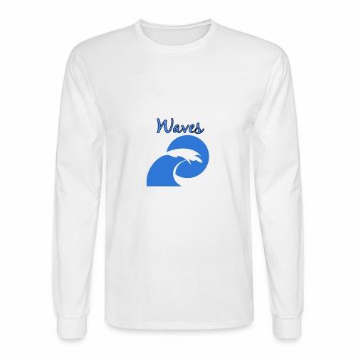 Waves - Men's Long Sleeve T-Shirt