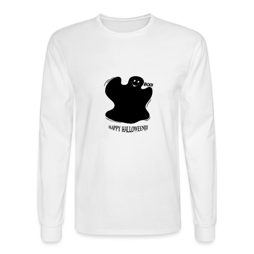 Boo! Ghost - Men's Long Sleeve T-Shirt