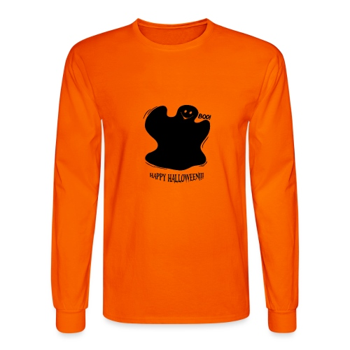 Boo! Ghost - Men's Long Sleeve T-Shirt