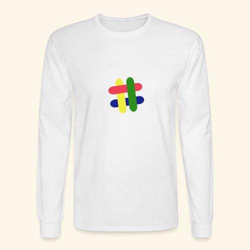 hashtag - Men's Long Sleeve T-Shirt