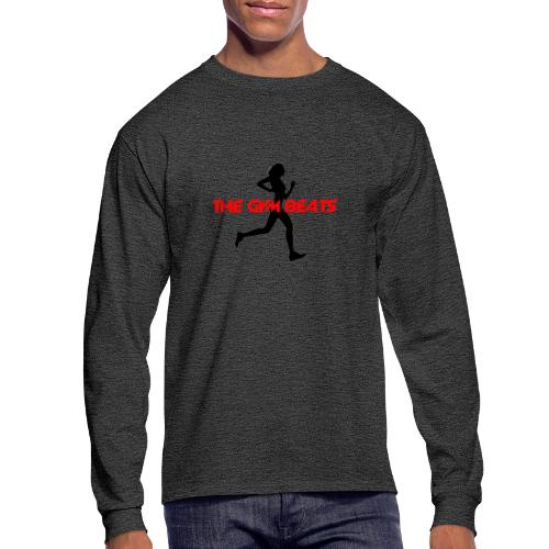 THE GYM BEATS - Music for Sports - Men's Long Sleeve T-Shirt