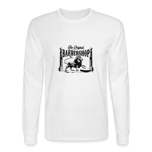 The Original Barbershop - Men's Long Sleeve T-Shirt