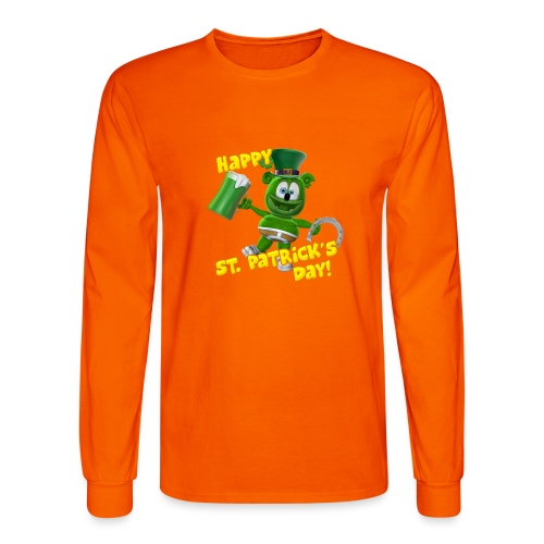 Gummibär (The Gummy Bear) Saint Patrick's Day - Men's Long Sleeve T-Shirt