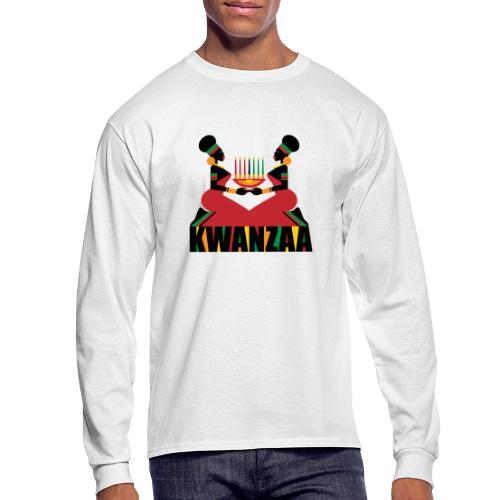 Kwanzaa - Men's Long Sleeve T-Shirt