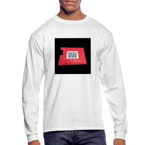 Distraction Envelope - Men's Long Sleeve T-Shirt