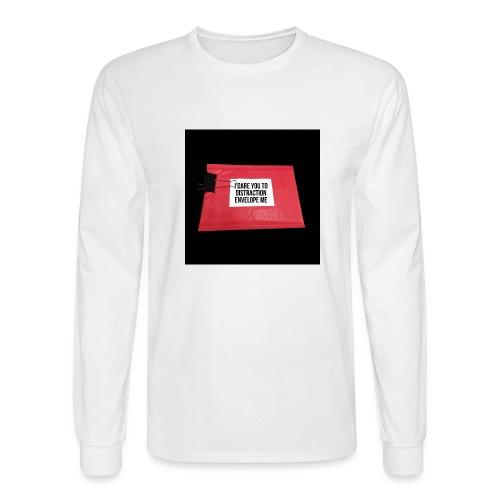 Distraction Envelope - Men's Long Sleeve T-Shirt