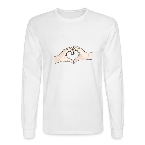 Heart Hands - Men's Long Sleeve T-Shirt