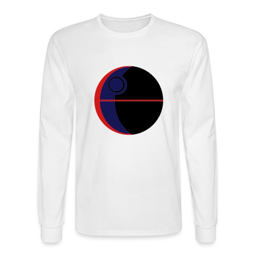 This Is Not A Moon - Men's Long Sleeve T-Shirt