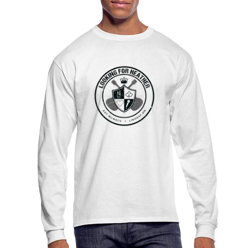 Looking For Heather - Crest Logo - Men's Long Sleeve T-Shirt