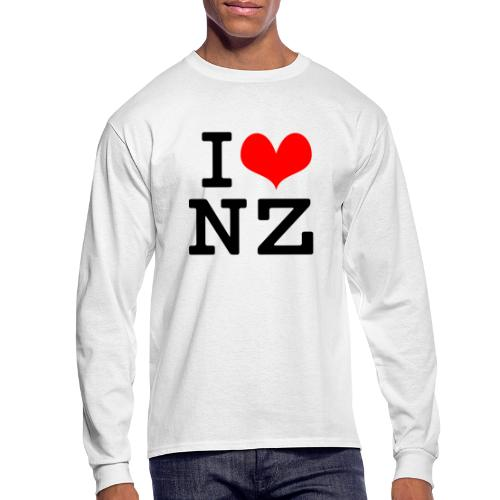 I Love NZ - Men's Long Sleeve T-Shirt