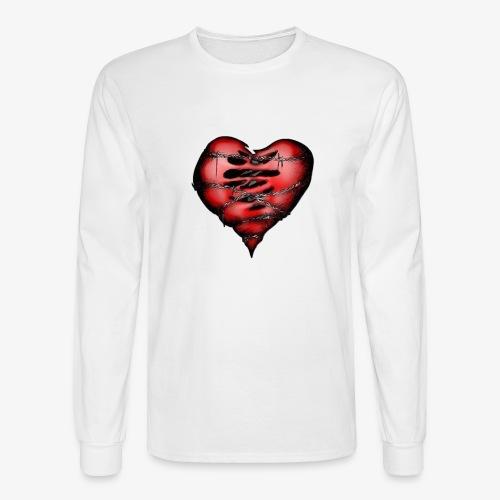 Chains Heart Ceramic Mug - Men's Long Sleeve T-Shirt