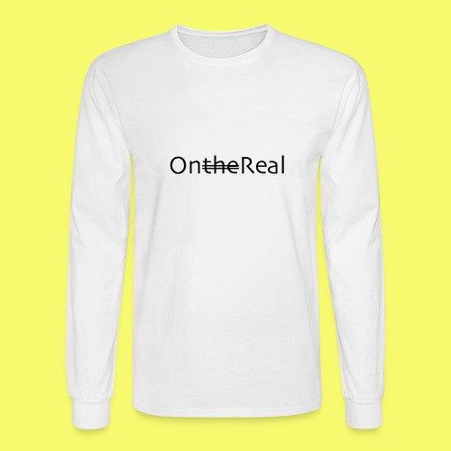 OntheReal ice 2 - Men's Long Sleeve T-Shirt