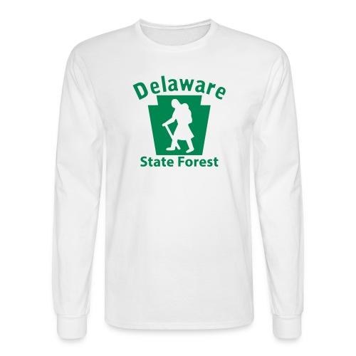 Delaware State Forest Keystone Hiker female - Men's Long Sleeve T-Shirt