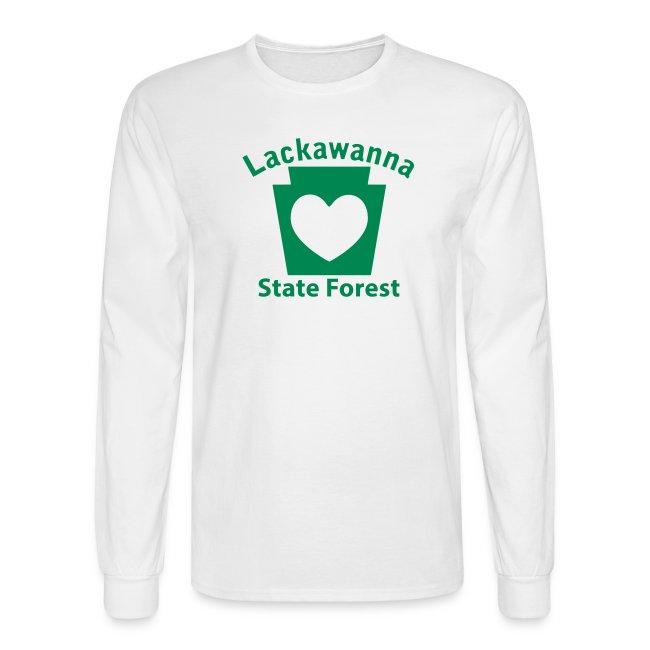 Lackawanna State Forest Keystone Heart