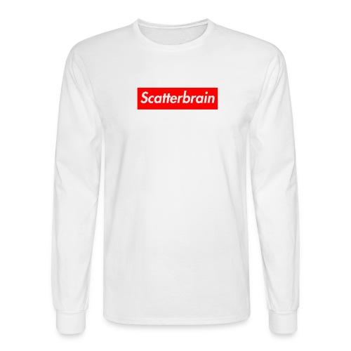 scatterbrain logo - Men's Long Sleeve T-Shirt