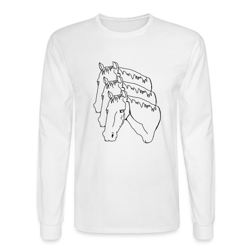 horsey pants - Men's Long Sleeve T-Shirt