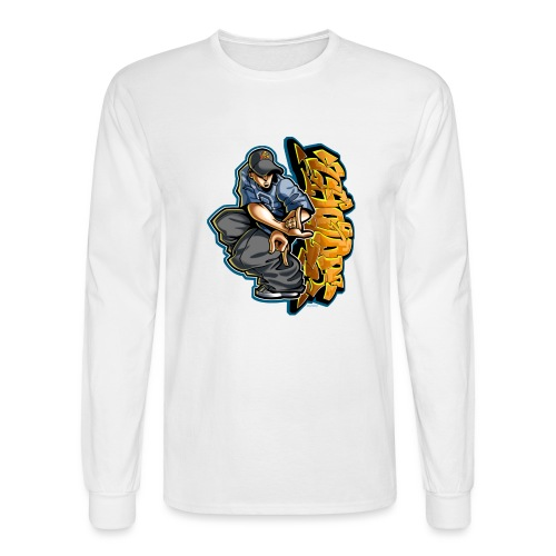 Cholo Hands by RollinLow - Men's Long Sleeve T-Shirt